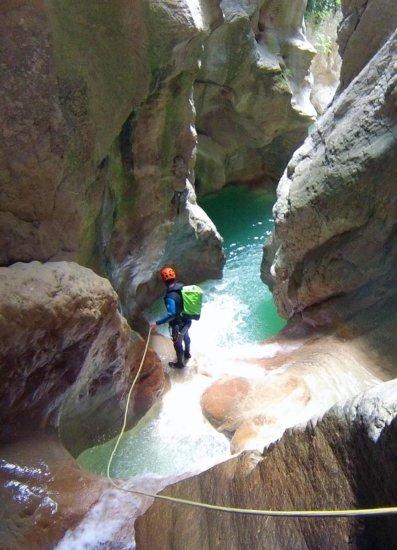 Canyoning Mascun à Rodellar en Aragon