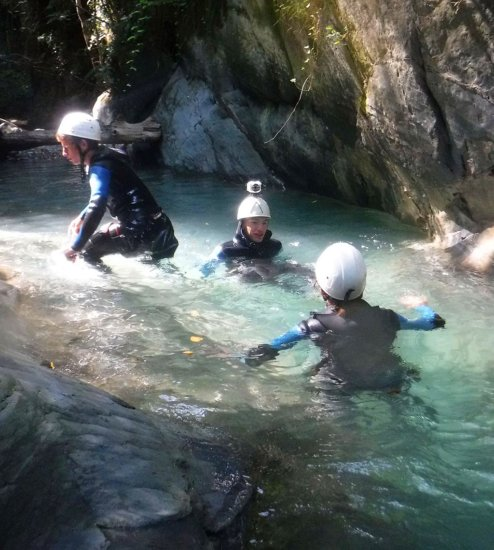 Canyoning Canceigt à Beost